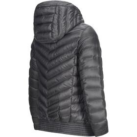 Peak Performance Ice Down Hooded Jacket Women quiet grey